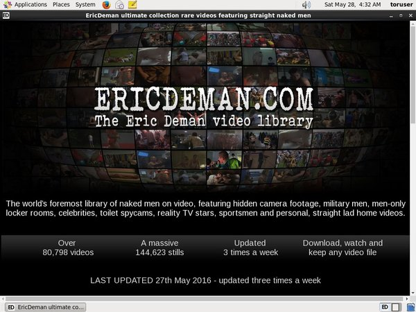 Ericdeman.com New Accounts