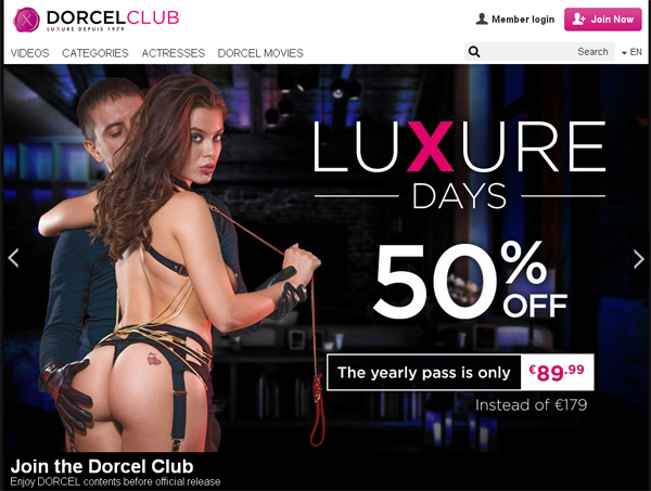 Dorcel Club Subscribe